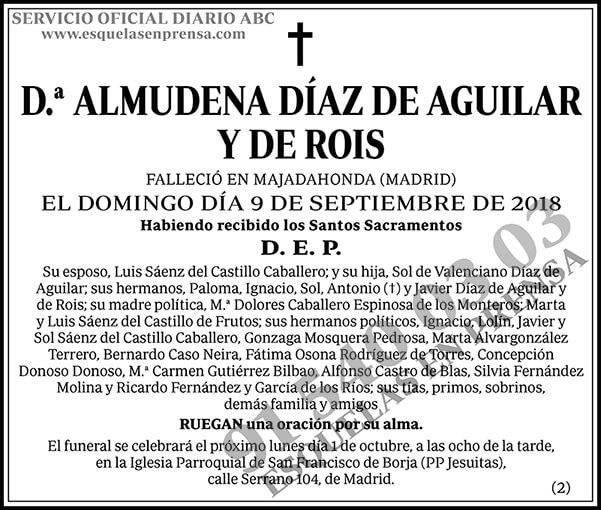 Almudena Díaz de Aguilar y de Rois
